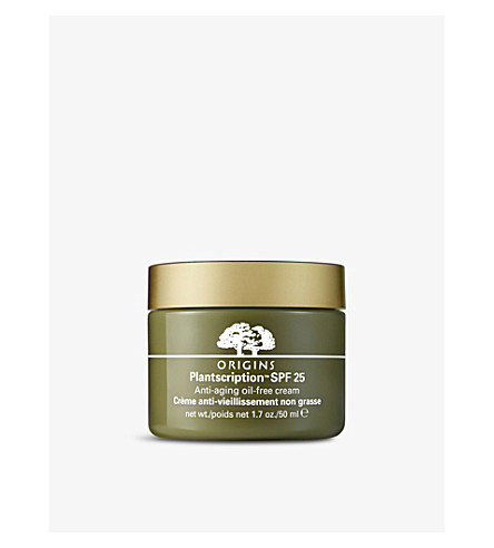 ORIGINS Plantscription anti-ageing oil-free cream 50ml
