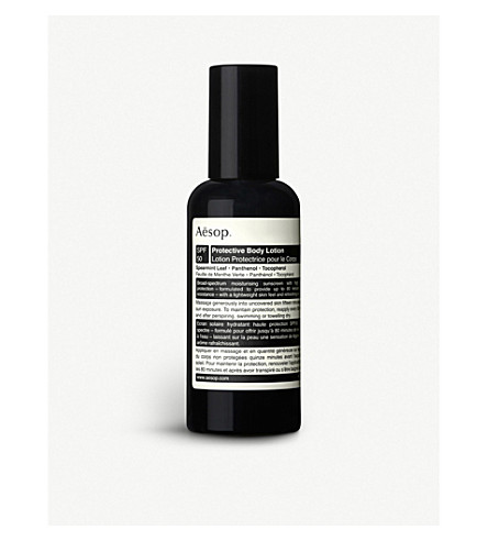 AESOP Protective Body Lotion SPF50 sun cream 150ml