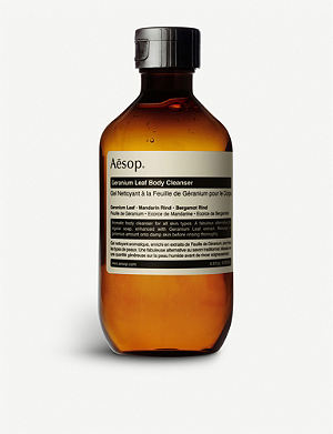 AESOP Geranium Leaf body cleanser 200ml