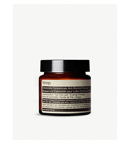 AESOP Chamomile concentrate anti-blemish masque 60ml
