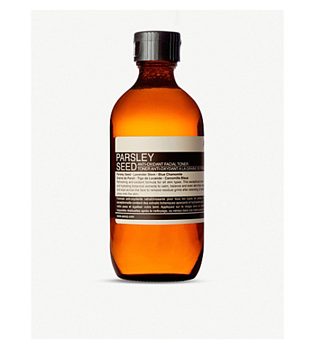 AESOP Parsley Seed antioxidant facial toner 200ml
