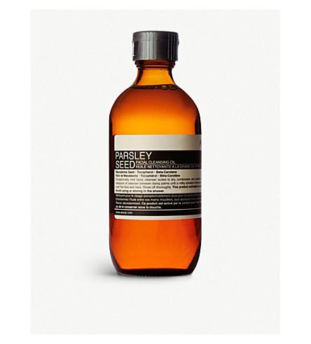 AESOP Parsley Seed facial cleansing oil 200ml