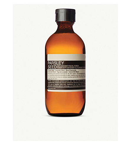 AESOP 欧芹种子抗氧化剂爽肤水 100 毫升