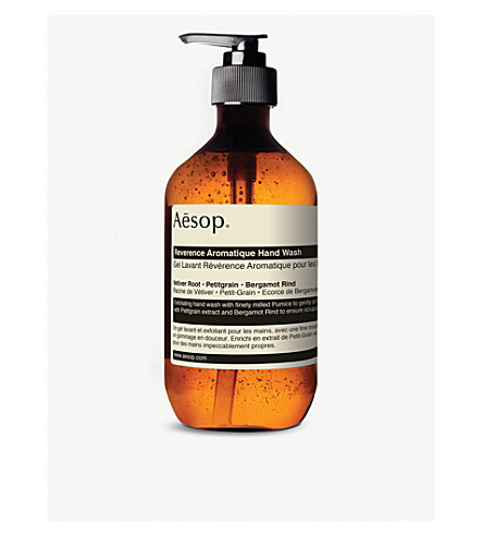 AESOP Reverence Aromatique hand wash 500ml