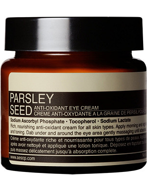 AESOP Parsley Seed antioxidant eye cream 60ml