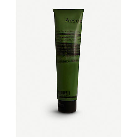AESOP Geranium Leaf body scrub 170ml