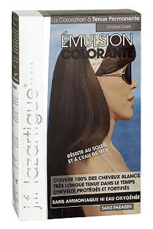 J F LAZARTIGUE Colour Emulsion for Grey Hair in Golden Chestnut 60ml