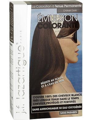 J F LAZARTIGUE Colour Emulsion for Grey Hair in Golden Chestnut 60ml