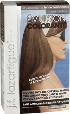 j f lazartigue colour emulsion for grey hair in light golden chestnut 60ml selfridgescom - Lazartigue Color