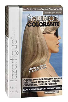 J F LAZARTIGUE Colour Emulsion for Grey Hair in Light Ash Blond 60ml