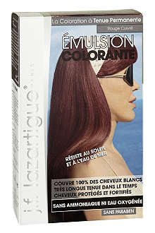 J F LAZARTIGUE Colour Emulsion for Grey Hair in Red Copper 60ml