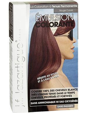J F LAZARTIGUE Colour Emulsion for Grey Hair in Red Copper 60ml