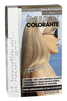 J F LAZARTIGUE Colour Emulsion for Grey Hair in Blond 60ml