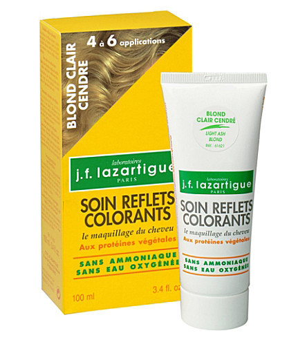 J F LAZARTIGUE Colour Reflecting conditioner - Light Ash Blond 100ml