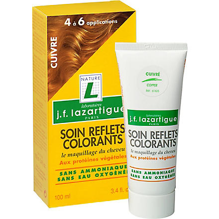 J F LAZARTIGUE Colour Reflecting conditioner - Copper 100ml
