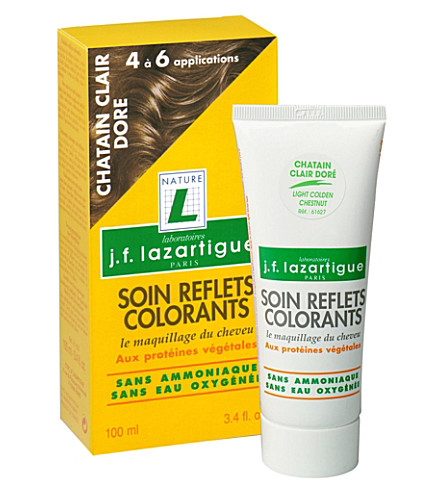 J F LAZARTIGUE Colour Reflecting conditioner - Light Golden Chestnut 100ml