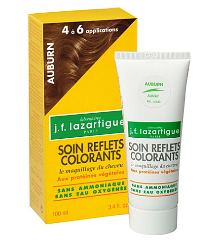J F LAZARTIGUE Colour Reflecting conditioner - Auburn 100ml