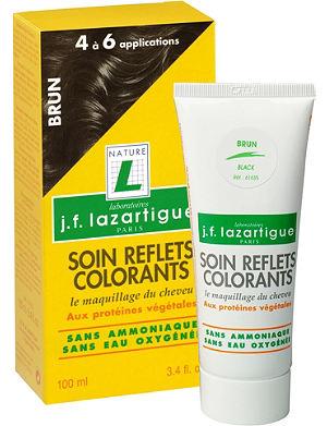 J F LAZARTIGUE Colour Reflecting conditioner - Black 100ml