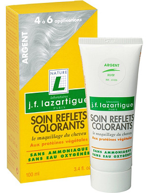 J F LAZARTIGUE Colour Reflecting conditioner - Silver 100ml