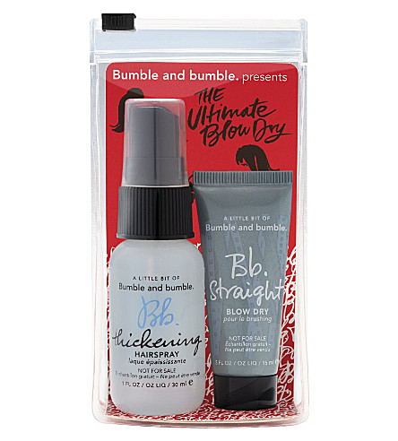 BUMBLE & BUMBLE The Ultimate Blowdry travel set