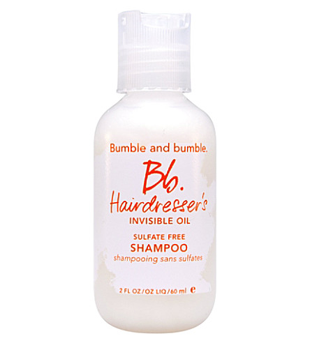 BUMBLE & BUMBLE Invisible oil travel size shampoo 60ml
