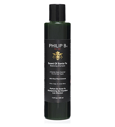 PHILIP B Scent of Santa Fe balancing shampoo 220ml