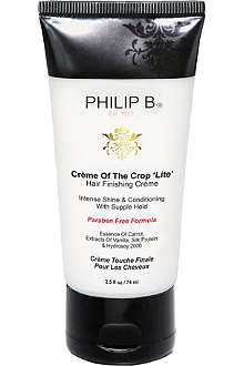 PHILIP B Crème of the Crop hair finishing crème light 74ml
