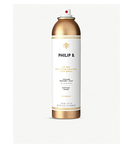 PHILIP B Jet Set precision control hairspray 260ml