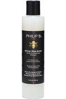 PHILIP B African Shea Butter Gentle and Conditioning shampoo 220ml