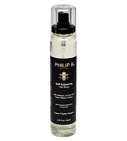 PHILIP B Self Adjusting hairspray 150ml