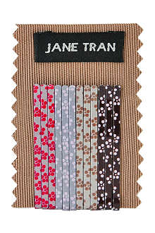 JANE TRAN Pretty petal bobby pin set