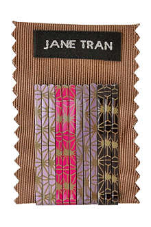 JANE TRAN Deco spark bobby pin set