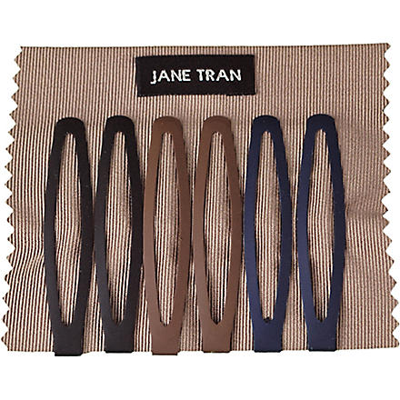 JANE TRAN Matte clip set