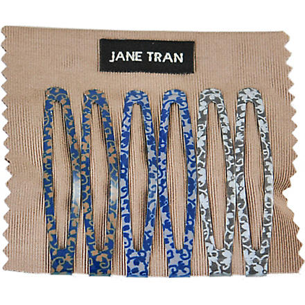 JANE TRAN Flower vine clip set