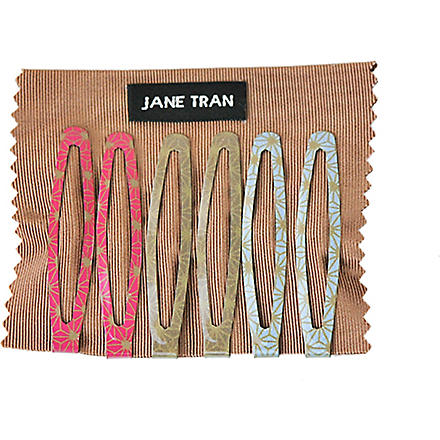 JANE TRAN Deco spark clip set