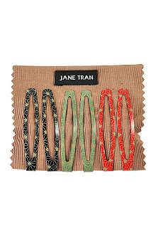 JANE TRAN Assorted deco spark clip set