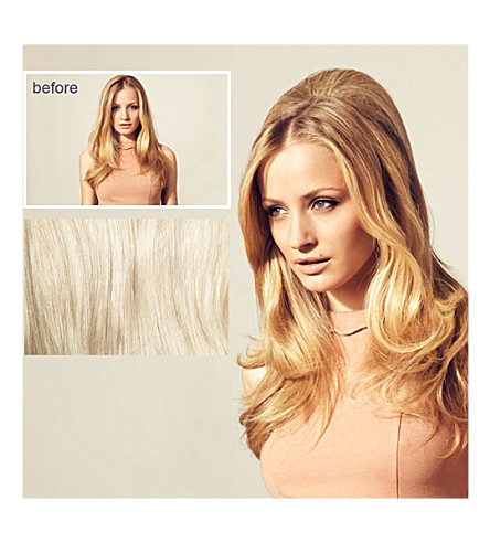 HERSHESONS The Bardot clip in hair piece (R22 swedish blonde
