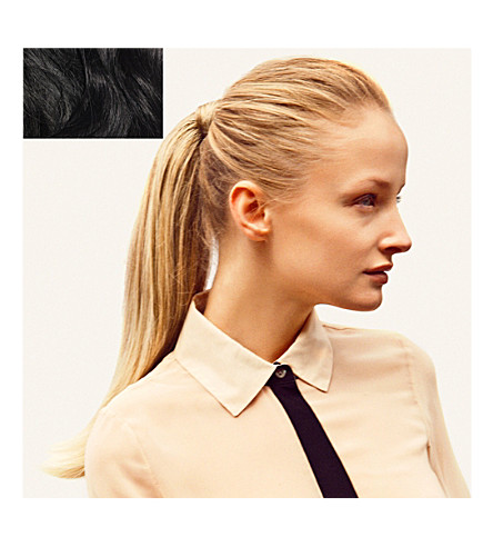 HERSHESONS The invisible ponytail (Black/espresso