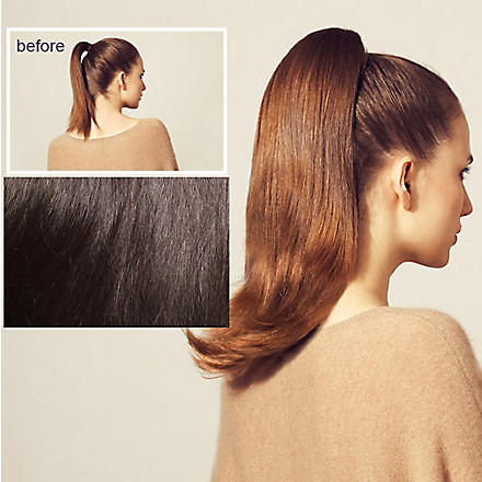 HERSHESONS Long slightly layered smooth ponytail (Cappuccino