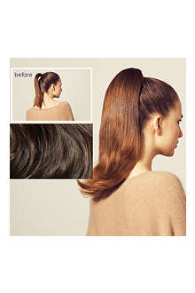 HERSHESONS Long slightly layered smooth ponytail