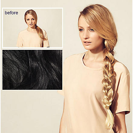 HERSHESONS Long smooth ponytail (Black espresso