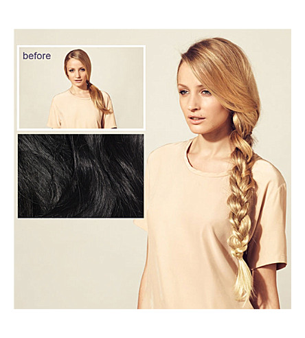 HERSHESONS Long smooth ponytail (Black+espresso