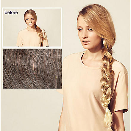 HERSHESONS Long smooth ponytail (Espresso/honey red