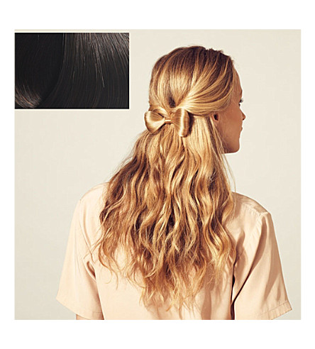 HERSHESONS Small hair bow (2+dark+brown