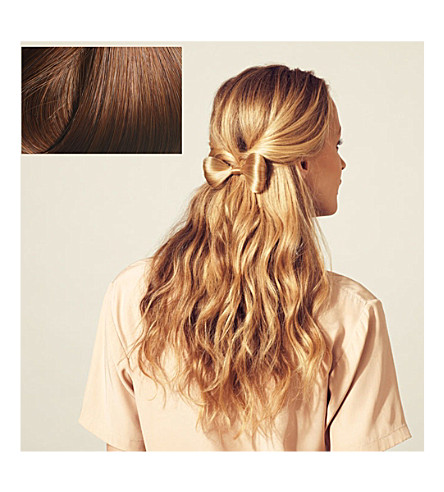 HERSHESONS Small hair bow (30+medium+red+ginger