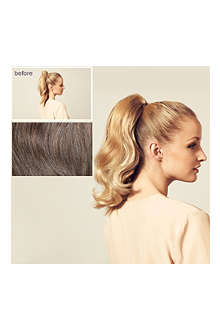 HERSHESONS Short wavy ponytail