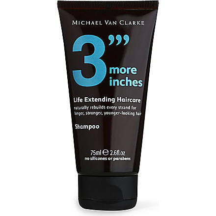 3 MORE INCHES Life-Extending shampoo 75ml