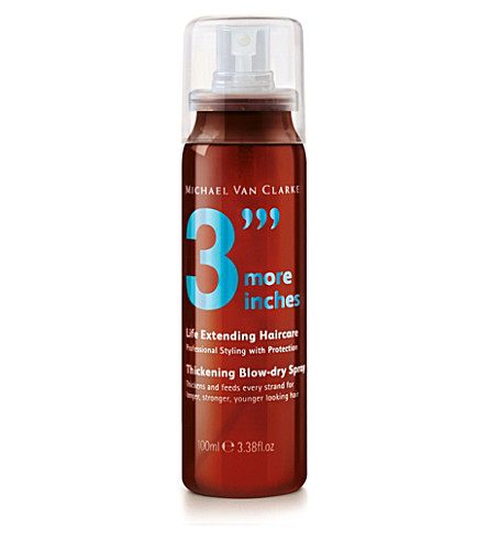3 MORE INCHES Thickening blow-dry spray 100ml