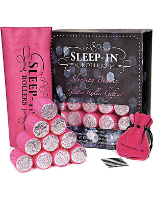 SLEEP IN ROLLERS Sleeping Beauty Glitter Roller set