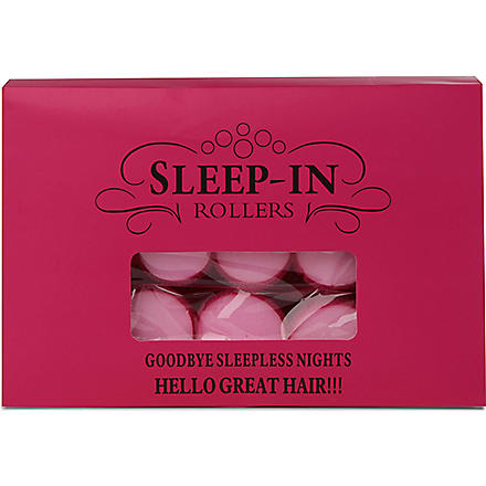 SLEEP IN ROLLERS Mega Bounce gift set
